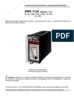 Manual rele pextron 7104