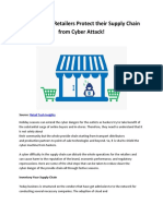 Here is How Retailers Protect Their Supply Chain From Cyber Attack