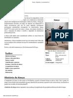 Dança – Wikipédia, A Enciclopédia Livre