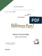Halloween, Proiect Educational 2019