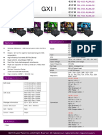 Product Sheet GXII