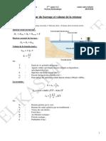 Résumé Des Formules