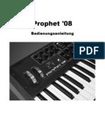 Prophet 08 Manual de v1.0