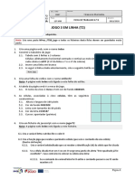 UFCD 8847 - FT08 - Jogo 3 Em Linha T2