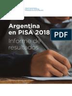 Argentina en Pisa 2018