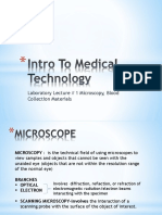 Introduction to Medical Technology