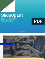 Employee Orientation PowerPoint Deck