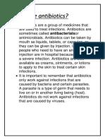 What are antibiotics.docx