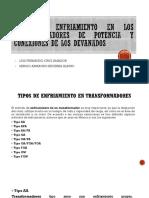 Tipos de Enfriamiento en Los Tranformadores de Potencia
