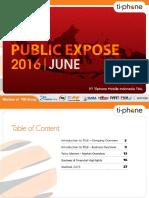 Presentasi Public Expose TELE 2016