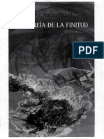 A) Filosofía de La Finitud- Joan-Carles Mélich (1)