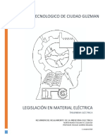 Reglamento de La Industria Electrica
