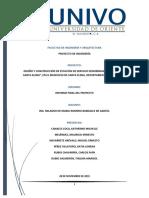 Informe Final Del Proyecto Diseño y Construcción de Estación de Servicio (Gasolinera)