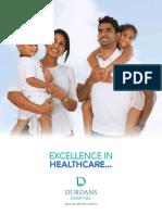Annual report of durdans hospital