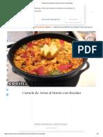 Receta de Cazuela de Arroz Al Horno Con Bacalao