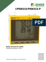 pem333 manual