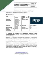 01-f087-Reglamento de Higiene y Seguridad Industrial