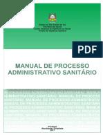 Processo Administrativo Sanitario