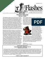 September 2010 Flicker Flashes Newsletter, Birmingham Audubon Society