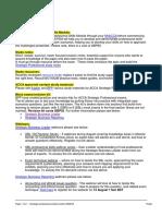 Strategic Professional Student Toolkit P7 ACCA