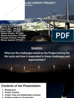 MILLAU VIADUCT CHALLENGES FACED