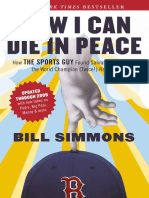 Now I Can Die in Peace by Bill Simmons (Excerpt)