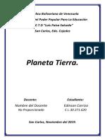 Trabajo Digital, Ciencias de La Tirra, Planeta Tierra