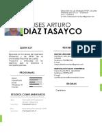CV Moisés Diaz