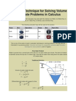237950577 Calculator Technique for Solving Volume Flow Rate Problems in Calculus