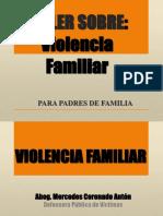 Violencia Familiar Ponencia
