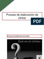 Proceso de Elaboracion de Clinker