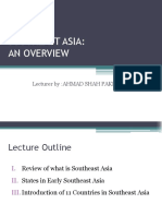 Chapter 1 Southeast Asia an Overview 2017 (1)
