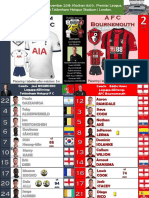 Premier League week 14 191130 16.00 Tottenham - Bournemouth 3-2