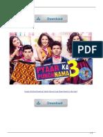 Pyaar Ka Punchnama Tamil Movie Free Download in Utorrent