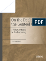 Jeff Mitchell - On the Decline of the Genteel Virtues_ From Gentility to Technocracy-Springer International Publishing_ Palgrave Macmillan (2019)