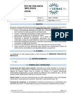 PROGRAMA de VIGILANCIA Epidemiologica Visual