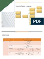 Selección Del Material y Formulas