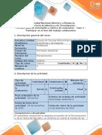 Guía de actividades y rúbrica de evaluación - Fase 4 –  Participar en el foro del trabajo colaborativo (1).docx