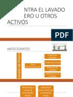 Ley Contra El Lavado de Dinero u Otros Activos Guatemala
