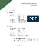 Attachment I_Integration Paper Template.doc