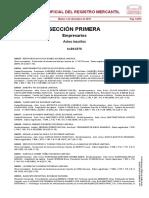 Borme Albacete 03-12-2019 Mercantil