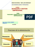 2.Funciones Administrativas y Funciones Empresariales