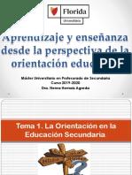 TEMA I_ La orientación en la edcuación secundaria.pptx