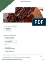 Vaqueiro - Bolo de chocolate húmido