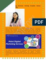 Madhur Maini Founder of Maini Technology Services