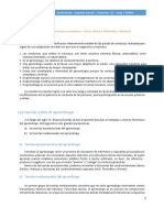 El aprendizaje en la ETP - Resumen
