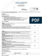 Pharmaceutical Analysis I – Theory