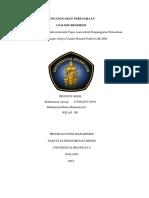 Penganggaran Perusahaan Analisis Regresi