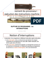 Cours Les Interruptions Entrees Sorties