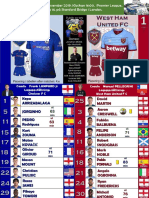Premier League week 14 191130 16.00 Chelsea - West Ham 0-1